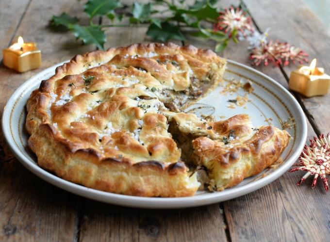 A Trio Of Christmas Recipes Vegan Pithivier Pie