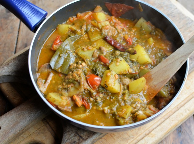 New Potato Curry Recipe — Dishmaps