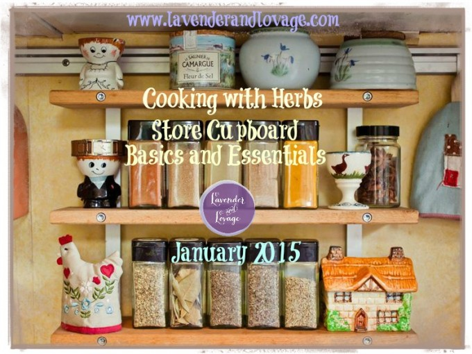 January 2015 Cooking with Herbs