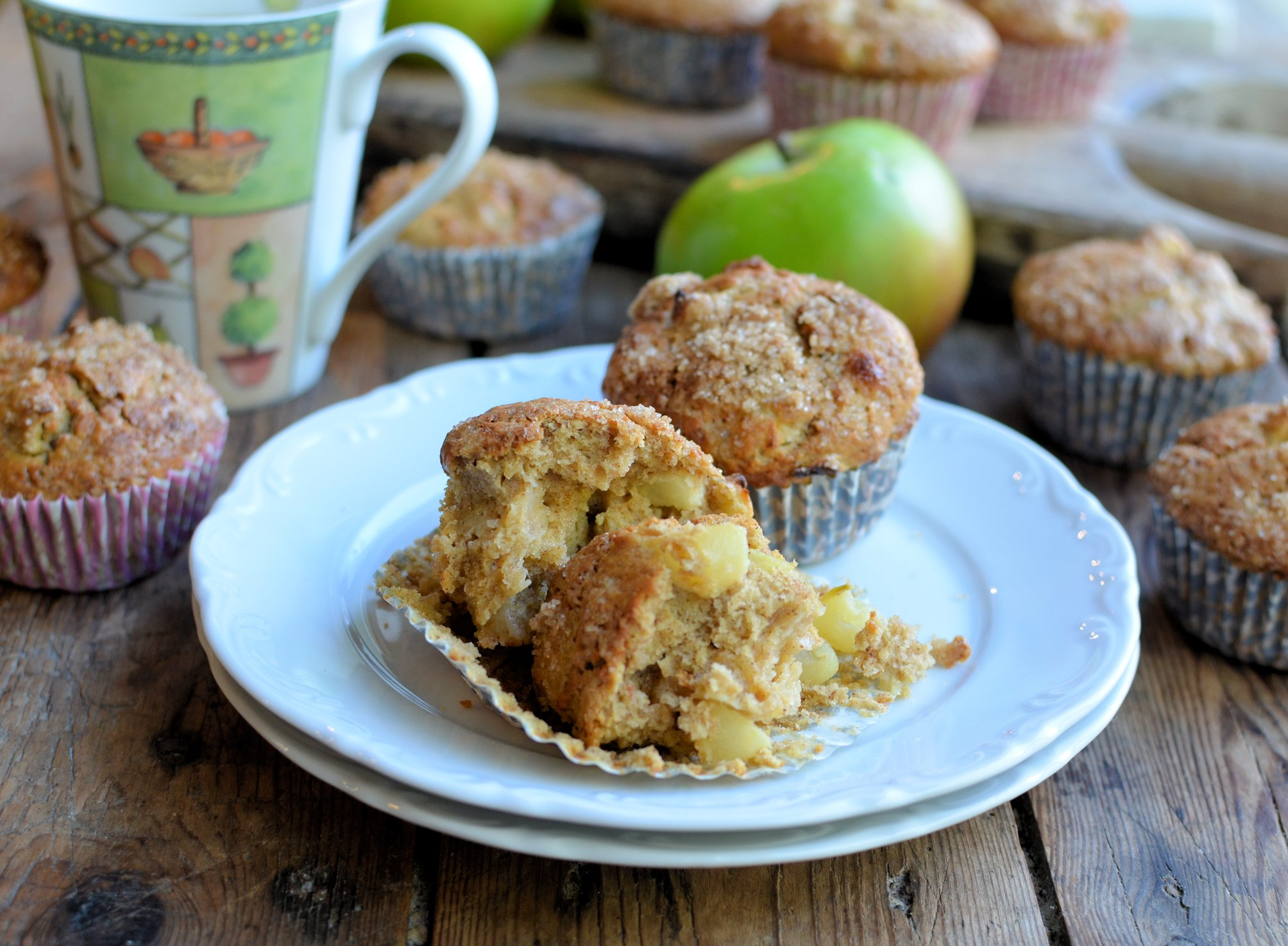 Apple pie muffins for bramley apple week for Perfect kitchen bramley