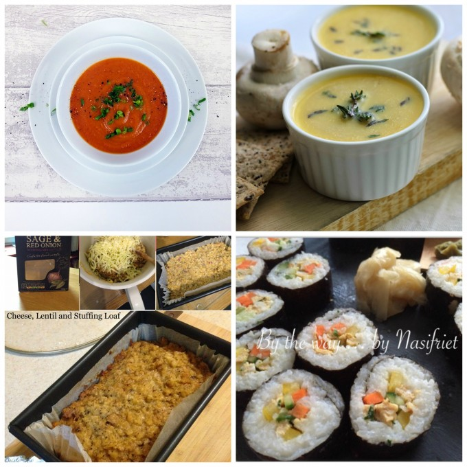 ... ROASTED TOMATO & GARLIC SOUP {VEGAN} by Elizabeth's Kitchen Diary