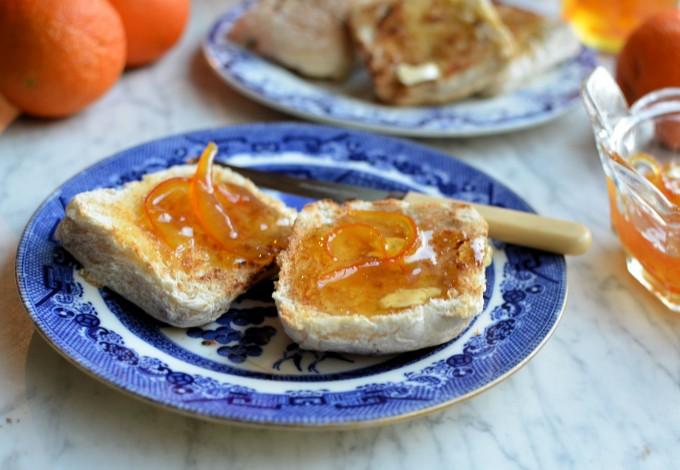 Merry Marmalade on toast
