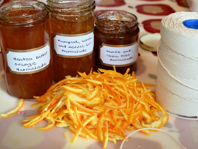 "Flowers, Birthdays & Making Merry! Seville Orange ""Merry"" Marmalade"