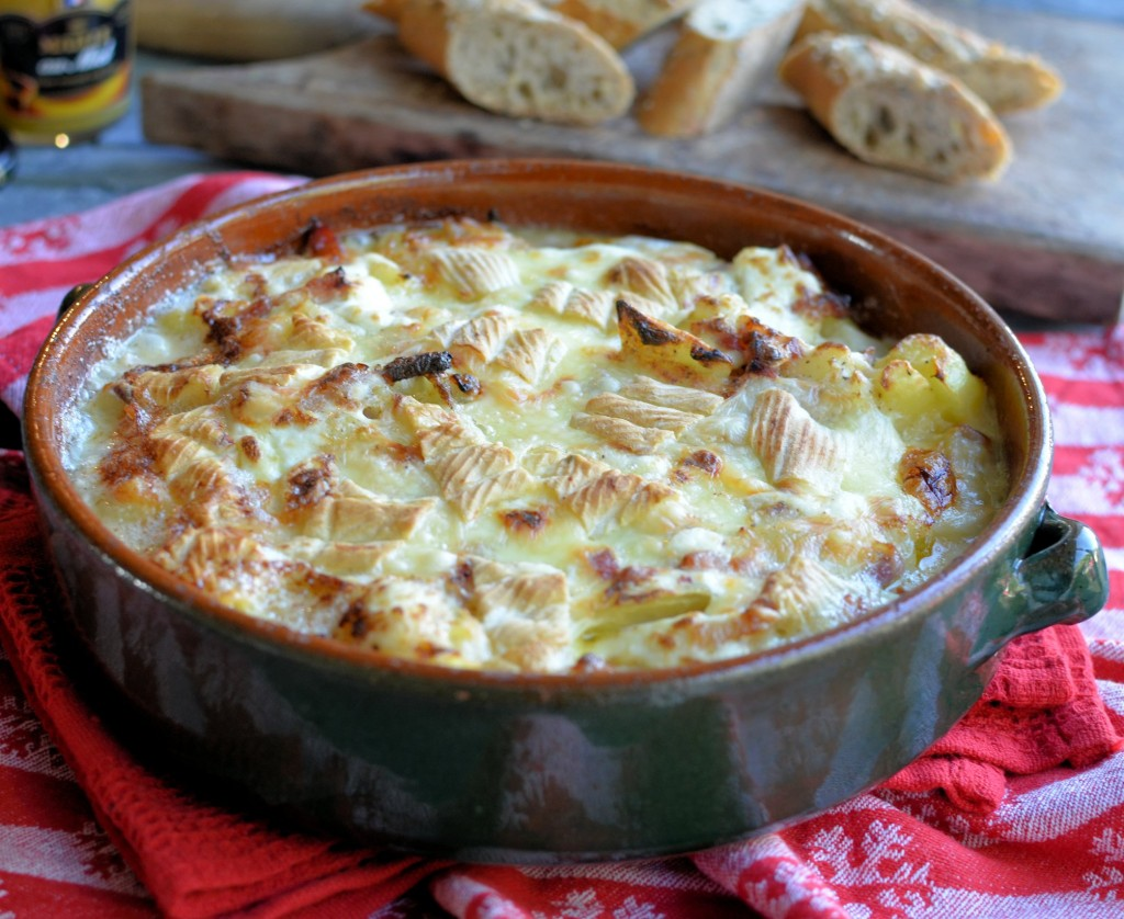 Ski Chalet Supper Tartiflette Savoyarde With Reblochon Cheese