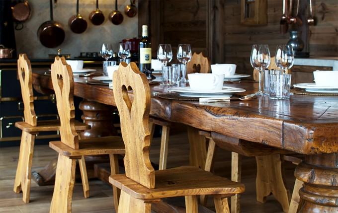 Ski Hut Dining Table