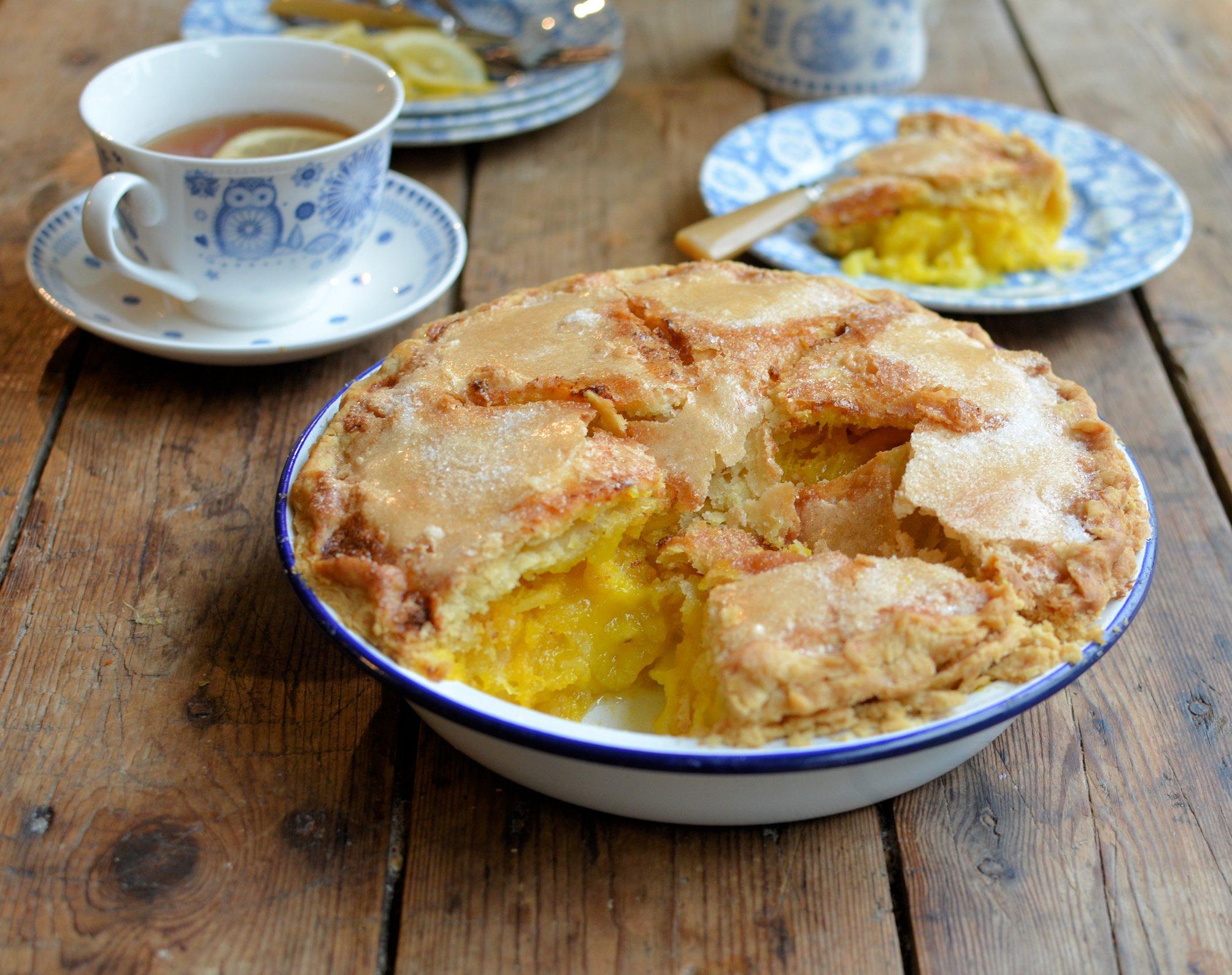 East Coast USA Revisited: Shaker Lemon Pie Recipe