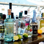 P and O Cruises Britannia Gin in Crow's Nest Bar
