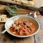 Pork & Fennel with Red Wine & Borlotti Beans for Canned Food Week (5:2 Diet)