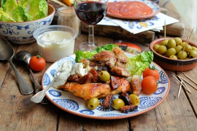 Spanish Chorizo Chicken with Olives