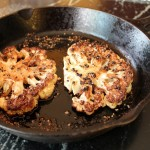 Cauliflower Steak Au Poivre
