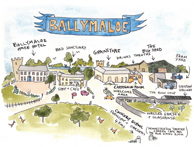 Ballymaloe Map Area