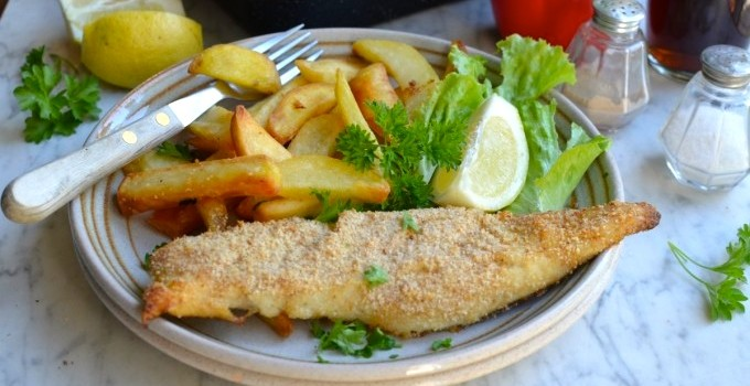 Switch the Fish – One Tray Oven Baked Hake and Chips
