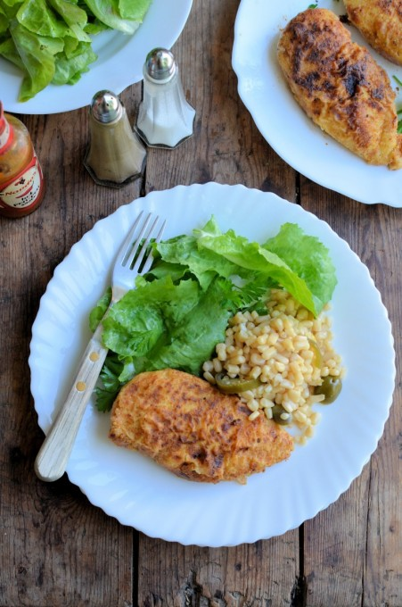 A Secret Recipe Low Fat Quot Kfc Quot Oven Fried Chicken Lavender And Lovage