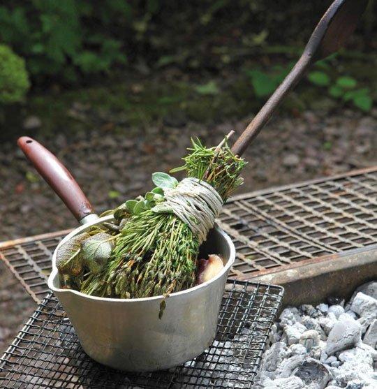 Make an Herb Basting Brush
