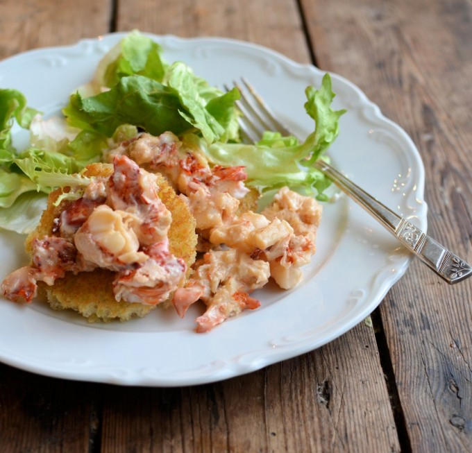 Lobster Newberg with Fresh Scottish Lobster - Lavender and Lovage