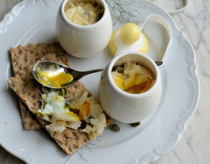Coddled Eggs Served