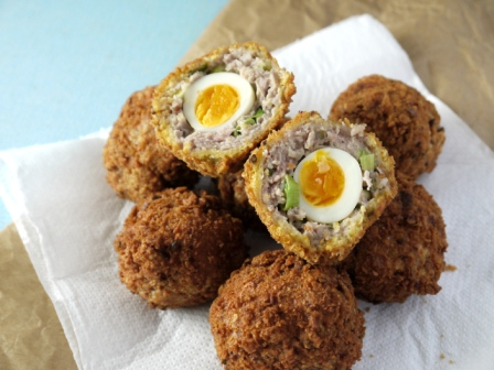 Mini (Quails) Scotch Eggs