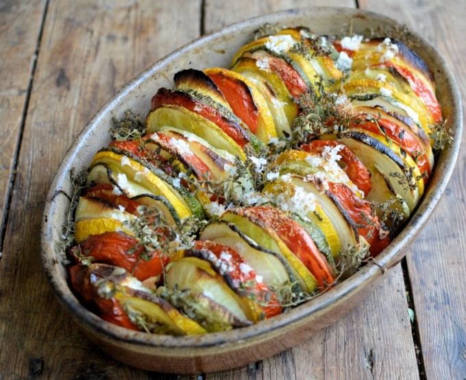 Tian Provençal (Summer Vegetable Gratin) - Lavender and Lovage