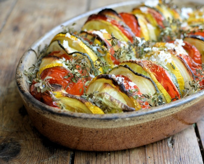Provencal Vegetable Tian Recipes — Dishmaps