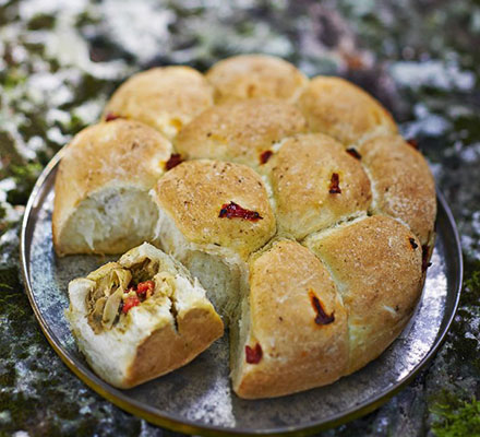 Stuffed Picnic Bread