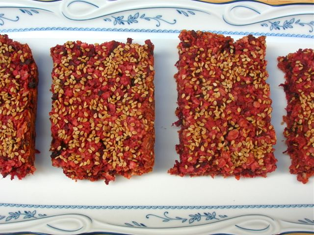 A Harvest Treat: Beetroot Flapjacks