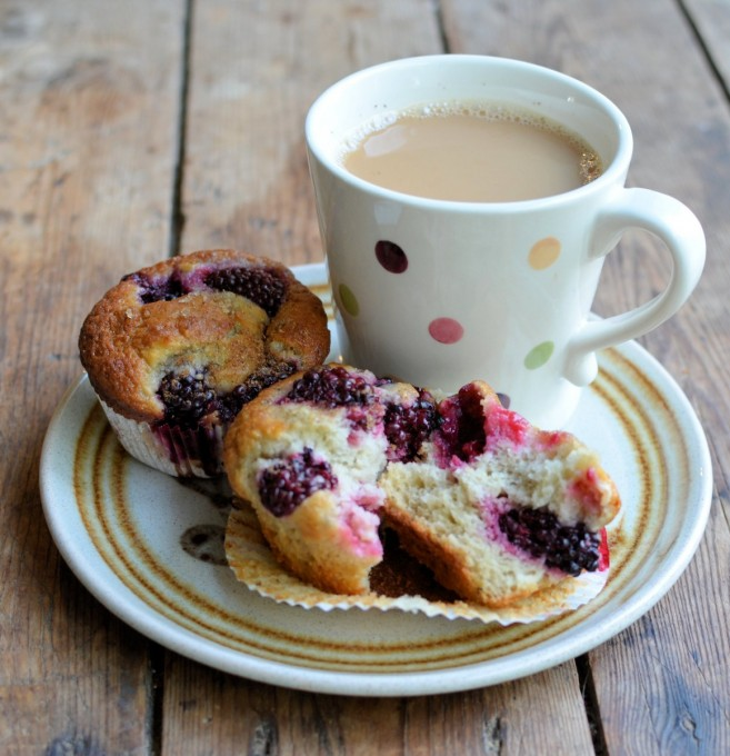 Blackberry Fairy Cake Buns