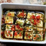 Marinated Feta In Olive oil and Herbs