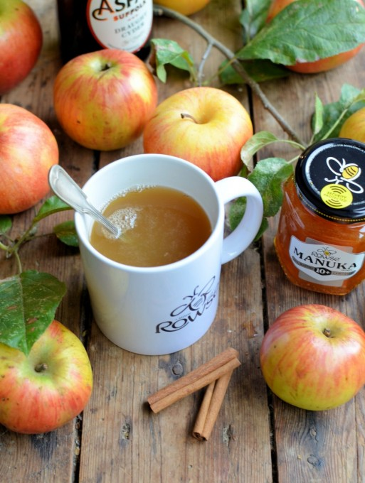 Hot Buttered Spiced Cider with Manuka Honey - Lavender and ...