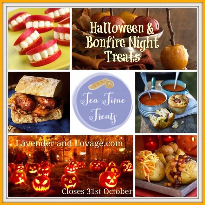 October Tea Time Treats: Halloween & Bonfire Night Treats