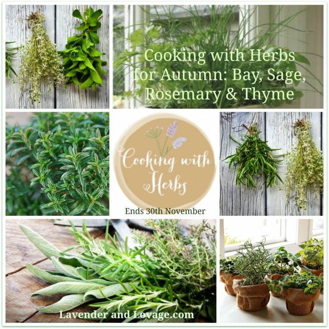 Cooking with Herbs for Autumn: Bay, Sage, Rosemary & Thyme