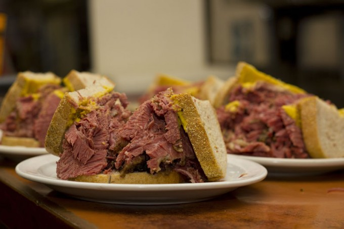 Big Smoked Meat Sandwich