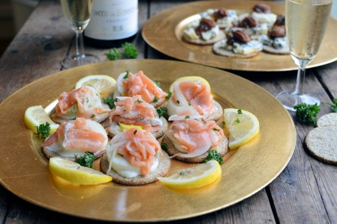 Canapés and Champagne