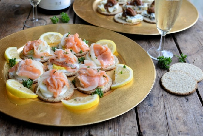 Champagne and Canapes