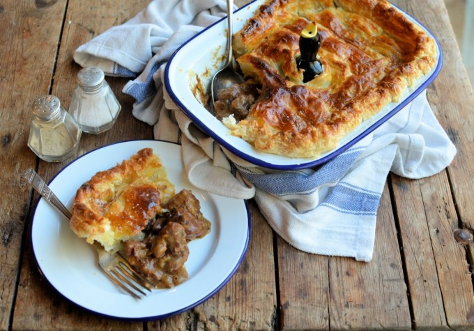 Christmas & New Year Cumbrian Chimney Pot Pie