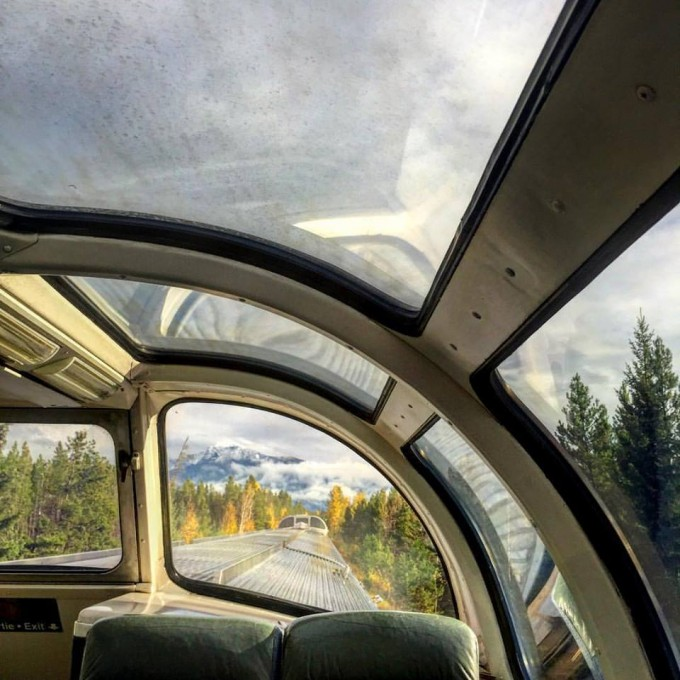 View from the Dome Car