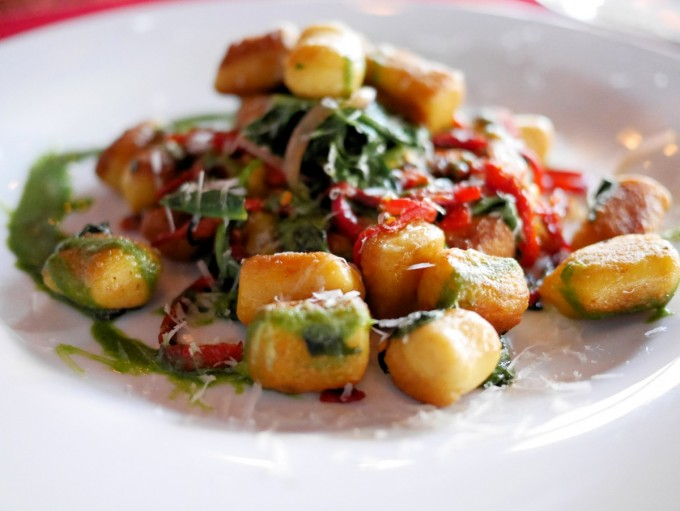 Aged Cheddar Gnocchi at The Peasant in Winnipeg