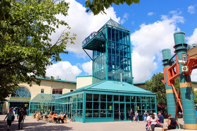 The Forks Market Tower