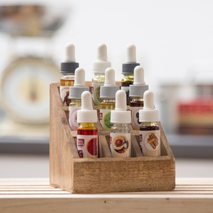 Wooden Stand with Spice Drops