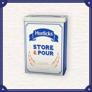 Horlicks Storage Tin