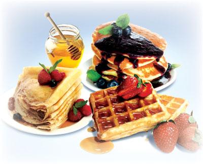 Pancakes Waffles