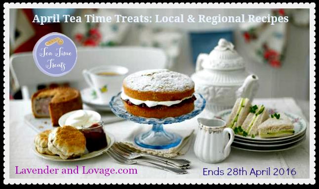 April Tea Time Treats: Local & Regional Recipes