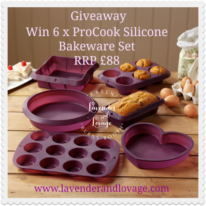 Giveaway ProCook Silicone Bakeware Set