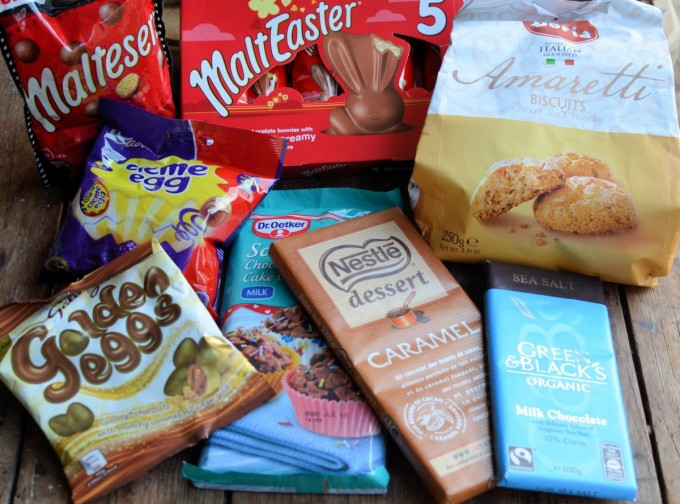 British Easter Chocolates