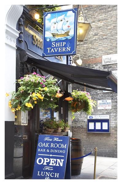 Ship Tavern Holborn