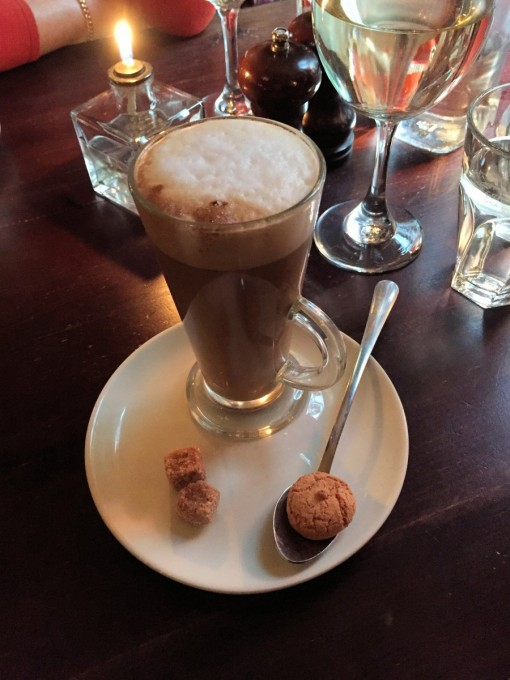 Latte and Macaroon