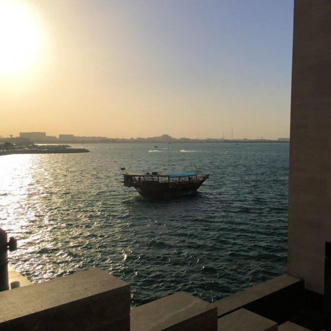 Doha Bay by Night