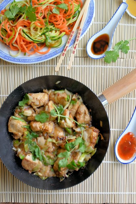Healthy Kung Pao Chicken