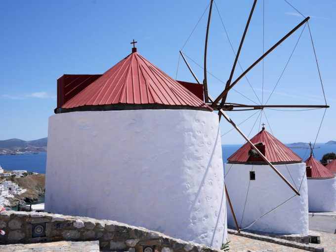 The Windmills of Astypalea