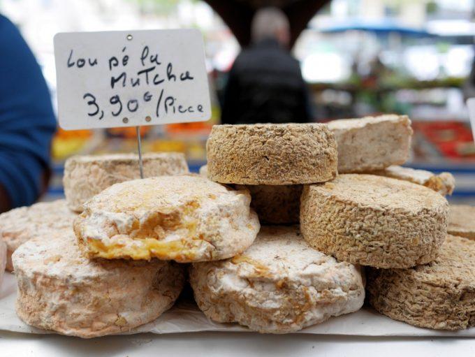 Cheese at Brive Market
