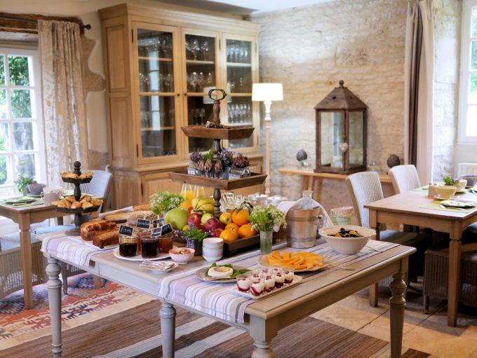 Breakfast at Manoir de Malagorse